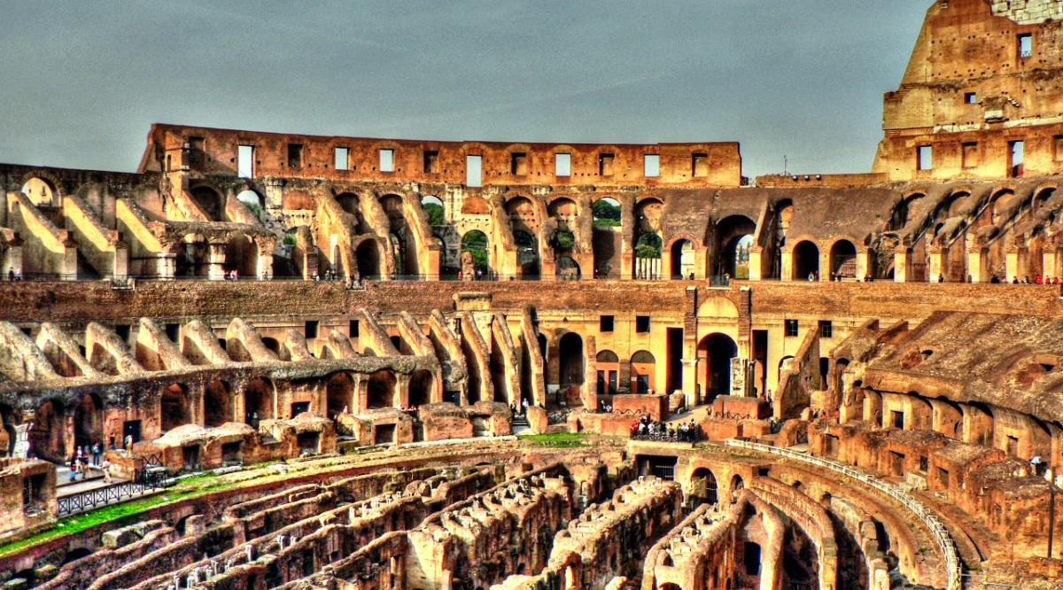 Rom - Colosseo 03 (tonemapped)